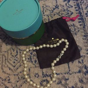 Kate Spade costume pearl necklace